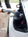 Plugue cobrando rápido de Chademo CCS EV