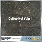 Плитка вены 10mm кофеего сетчатая толщиная мраморный для Polished мраморный плитки или покрытия пола стены