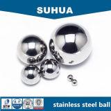 esfera de aço inoxidável de produto comestível AISI304 de 9.525mm