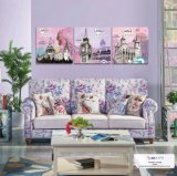 Stampa della tela di canapa delle merci domestiche di alta qualità