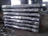 Feuille ondulée en acier galvanisée de toiture