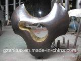 I prodotti di rame decorativi esterni del giardino della scultura Bronze, figura astratta