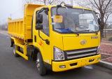 FAW 4X4 5t 경트럭 소형 팁 주는 사람 트럭