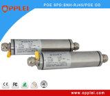 Prendedor ao ar livre do impulso do ponto de entrada do gigabit do cerco IP67 RJ45 do aço inoxidável