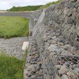 Высокопрочная стена Galfan Gabion сохраняя сделанная в Китае