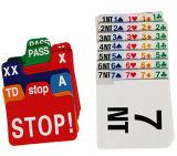 O papel substitui cartões para a ponte de contrato e a ponte da duplicata