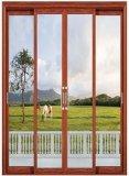 Alluminio Bronze Windows scorrevole di colore di alta qualità e portelli