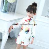 Usura bella dei bambini del vestito da Cheongsam delle ragazze di fiore del Lungo-Manicotto di alta qualità
