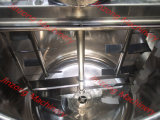 Malaxeur de détergent liquide de chauffage de vapeur de vide