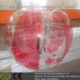 Смешной шальной цветастый крытый напольный людской шарик пузыря