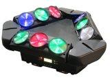 lumière principale mobile de 9X10W DEL avec l'effet pointu de lavage de faisceau
