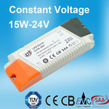 15W 24V Constant Voltage LED Power Supply mit Cer Certificate