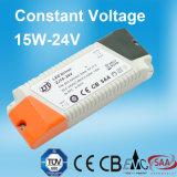15W 24V de Constante LEIDENE van het Voltage Levering van de Macht met Ce- Certificaat