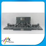 Form-hölzerne Uhr-Leder-acrylsauerbildschirmanzeige mit bestem Preis