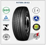 Tous les pneus radiaux en acier de camion et de bus avec le certificat 255/70r22.5 (GR612) de CEE