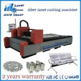 máquina de estaca Hsgq300150 do laser do metal de folha de 500With 800W