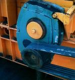 Reductor helicoidal del engranaje de transmisión de la caja de engranajes de Smr