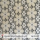 Tissu épais de lacet de coton pour les robes (M3390)