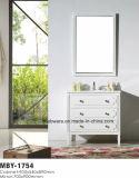 60 Zoll-klassischer Badezimmer-Eitelkeits-Schrank-festes Holz