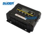 Regulador solar inteligente de la carga del manual PWM de la fábrica 60V 50A (ST-W6050)
