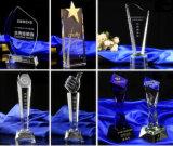 Toekenning van het Glas van de Trofee van het kristal de Vijfsterren