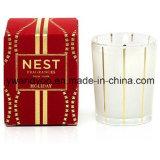 Dekoratives Sojabohnenöl-Wachs-duftende Glasglas-Kerzen
