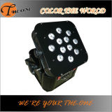12PCS*17W Battery Wireless LED Flat PAR Light