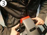carro de paleta eléctrico del pedal de la CA 2t/carro de paleta de gran alcance (Ept20-20ra)
