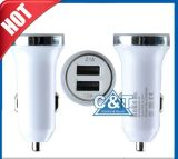 Apple Android Devicesのための3.1A Dual USB Port Car Charger