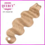 Pacotes brasileiros do cabelo do Virgin da cor loura, nenhum derramamento, nenhum emaranhado, qualidade superior, preços baratos