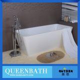La bañera de acrílico mejor y más barata para la venta, pequeña bañera libre (JR-B820)