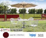 Gran marco de aluminio de 2,7 millones de Dia MID-Polo Sombrilla para el patio
