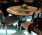 現代デザインは販売のための大理石の円卓会議を回す