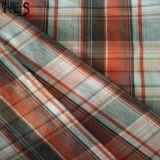 100%年の衣服のワイシャツまたは服Rls40-52spのための綿によって編まれるヤーンによって染められるファブリック