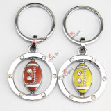 Promotion Gift (KR)のための合金Rotatable Football Keyring
