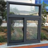 Guichet de glissement bon marché d'aluminium de double vitrage de Metel du plus défunt modèle (CL-W1012)