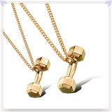 方法宝石類のステンレス鋼の吊り下げ式のネックレス(NK185)