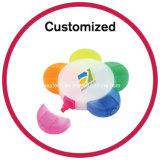 Le logo a estampé 5 dans 1 barre de mise en valeur multi de couleur de fleur