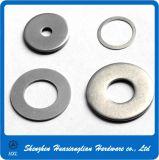 De Vlakke Wasmachine van het Roestvrij staal DIN125 DIN126 DIN9021 A2 A4