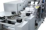 Los carriles del automóvil 2 embolsan completamente el papel de tejido que convierte la máquina Tp-H250