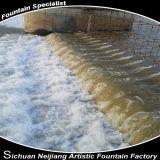Represa do contratante do projeto da represa do rio