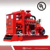 De Pompen van de brand met de Structuur van de Motor Commins en van het Frame (vermelde UL)