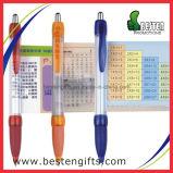 Retirer le stylo à bille rétractable avec stylo de message Stylo à bille promotionnel