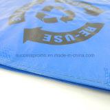 Sac en tissu réutilisable PP pour shopping, sac promotionnel pour publicité