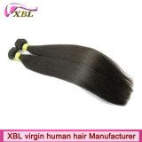 Paquets péruviens de cheveux de la Vierge 8A de prolongements supérieurs de cheveux