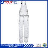Изготовленный на заказ белые прозодежды колеривщиков с держателем пусковых площадок колена (YBD118)