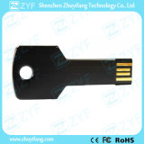 Schwarzes Metallaluminium 8GB USB-Blitz-Laufwerk mit kundenspezifischem Firmenzeichen (ZYF1724)