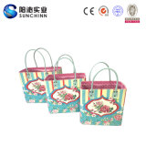 I Women를 위한 Love Roses Set 3 PU Leather Handbag