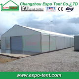 Temporäres Industrial Storage Tent mit Steel Sheet Wall