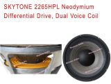 "do "" unidade do excitador do altofalante do Woofer Neodymium 2265HPL 15"